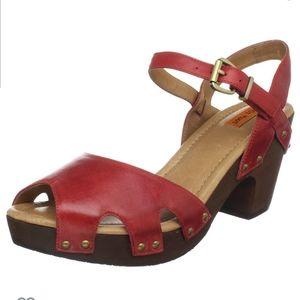 Miz Mooz Heather sandal in Red size 8.5